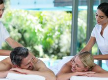 Integrative wellness center massage client referral program