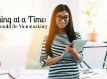 One Thing at a Time-