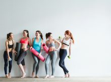build a better yoga class attendance, group of women discuss how