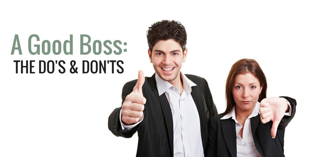 A Good Boss-