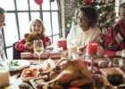 Wellness business owner enjoying time with his family over the holidays