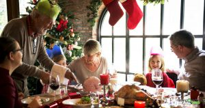 Small business owner more focused and present with family over holidays