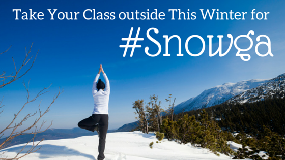 Take Your Class outside This Winter for