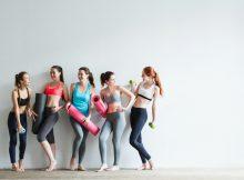 build a better yoga class attendance, group of women discuss how
